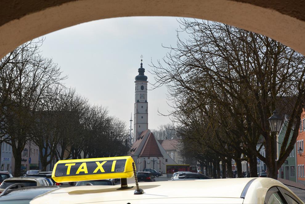 Das Taxi-Unternehmen in Dorfen